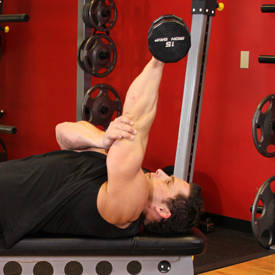 Dumbbell Triceps